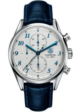 a0ff516a18ad4 Tag Heuer Carrera Automatic Chronograph Replica Watches With Silver Dials